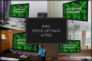 iMac Mock-up Pack#2