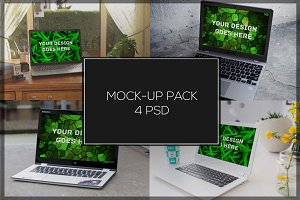 Laptop Mock-up Pack#3