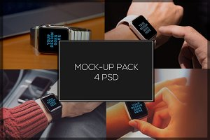 iWatch Mock-up Pack#2