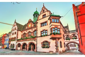 Town hall of Freiburg im Breisgau, Germany