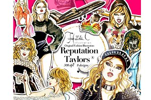 Reputation Taylors Clipart