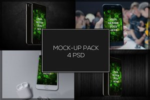 iPhone 7 Mock-up Pack#2