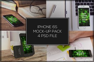 iPhone 6S Mock-up Pack#5
