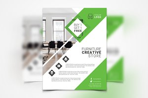 Interior Design Flyer #143