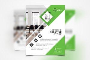 Interior Design Flyer #054