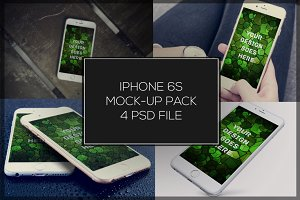iPhone 6S Mock-up Pack#3