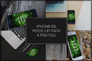 iPhone 6S Mock-up Pack#1