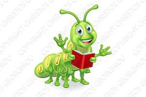 Caterpillar Bookworm Worm Reading