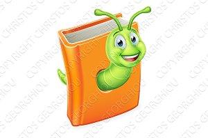 Book Bookworm Caterpillar Worm