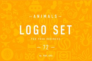 Animals Logo set 6.