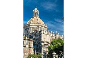 Church of the Badia di Sant'Agata in Catania, Italy