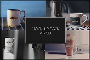 Coffee Mock-up Pack#2