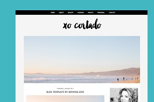 $10 OFF - BLOGGER TEMPLATE XOCORTADO