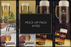 Beer Mock-up Pack#4