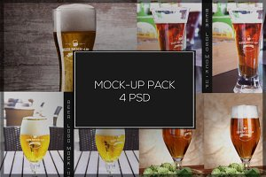 Beer Mock-up Pack#3