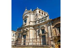 Church of San Giuliano in Catania - Sicily, Italy