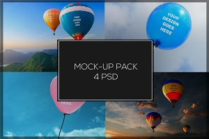 Air Balloon Mock-up Pack#1