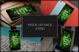 Android Mock-up Pack#7
