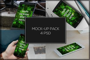 Android Mock-up Pack#8