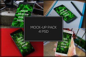Android Mock-up Pack#6
