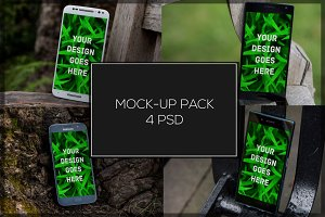 Android Mock-up Pack#5