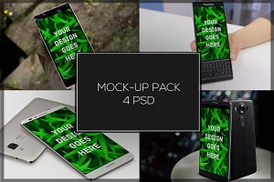Android Mock-up Pack#4