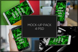 Android Mock-up Pack#3