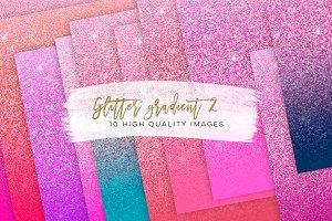 Glitter gradient texture