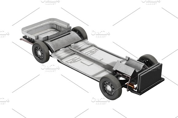 Chassis frame car set ~ Graphic Objects ~ Creative Market