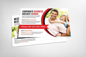 Multiuse Business Postcard Template