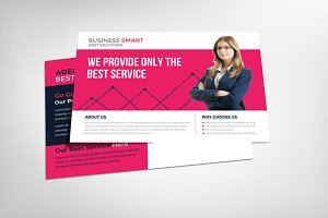 Marketing Business Postcard Template