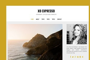 $10 OFF - BLOGGER TEMPLATE eXpressO