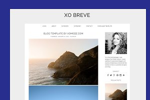 $10 OFF - BLOGGER TEMPLATE XOBREVE