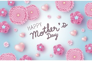 Mother's day banner design