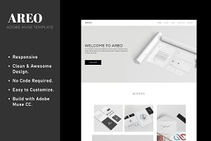 Adobe Muse Responsive Template
