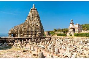 Samadhisvara Temple at Chittorgarh Fort. UNESCO world heritage site in Rajastan, India