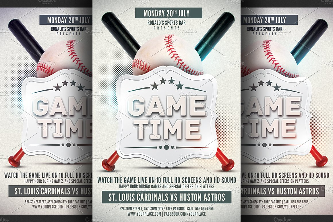 Baseball flyer Photos Graphics Fonts Themes Templates – Baseball Flyer