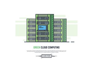 Green cloud servers