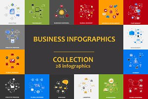 28 BUSINESS infographics