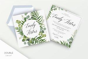 Wedding suite - Tropical green 1