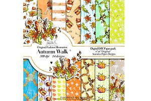 Autumn Walk Paper Pack