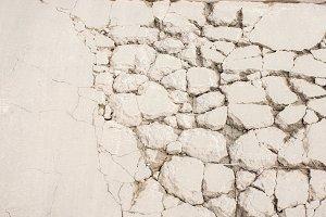 Cracked cement floor background