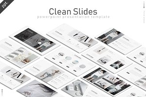 Clean Slides Powerpoint