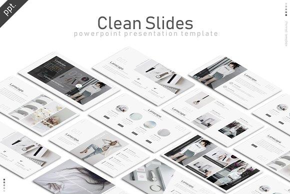 Clean Slides Powerpoint