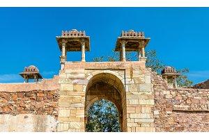 Rana Ratan Singh Mahal, a palace at Chittorgarh Fort - Rajastan, India