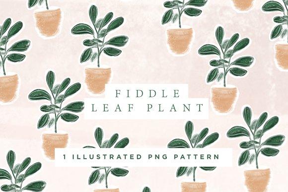 Fiddle Leaf Pattern