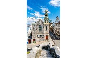 The Jesuit Chapel in Quebec City, Canada