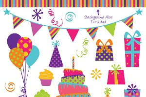 Party Vectors and Clipart