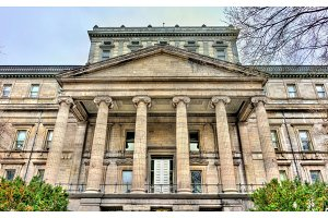 Old Palace of Justice in Montreal, Canada