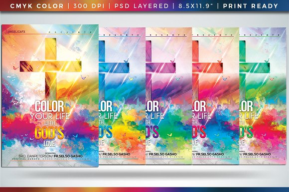 Color Your Life With GOD'S Love